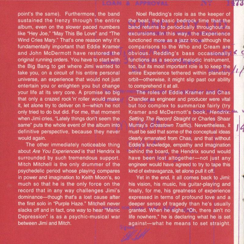 Discographie : Compact Disc   - Page 2 AreYouExperiencedMCARecords111608-21997ADDLivret10_zps782c6c6d