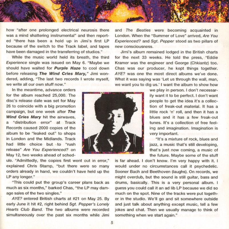 Discographie : Compact Disc   - Page 2 AreYouExperiencedPolydor521036-21993ADDlivret05_zpsbcbb3f11