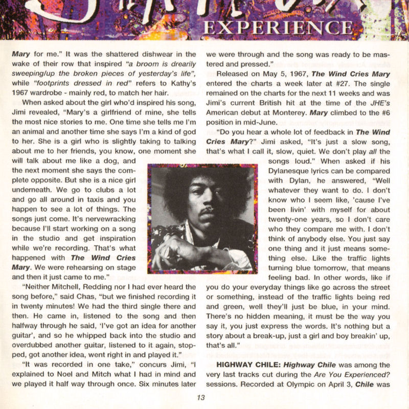 Discographie : Compact Disc   - Page 2 AreYouExperiencedPolydor521036-21993ADDlivret13_zps93a0d036