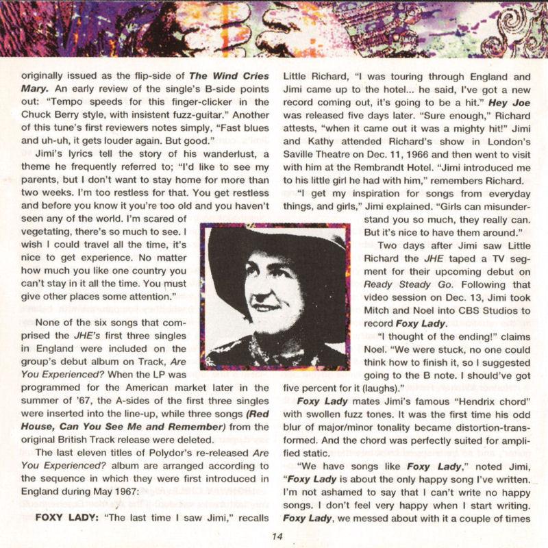 Discographie : Compact Disc   - Page 2 AreYouExperiencedPolydor521036-21993ADDlivret14_zps9bea3d2e