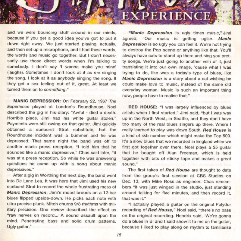 Discographie : Compact Disc   - Page 2 AreYouExperiencedPolydor521036-21993ADDlivret15_zps400dfa20