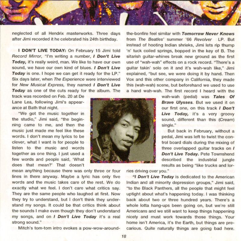 Discographie : Compact Disc   - Page 2 AreYouExperiencedPolydor521036-21993ADDlivret18_zps7bfa6f40