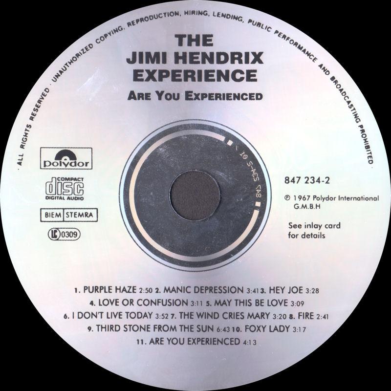 Discographie : Compact Disc   - Page 2 AreYouExperiencedPolydor847234-21991AADLabel_zpsd2e89e76