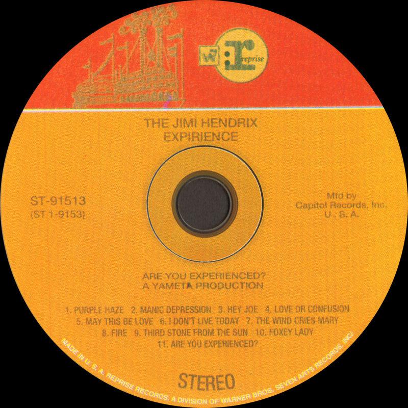 Discographie : Compact Disc   - Page 2 AreYouExperiencedRepriseST-91513Russie2000Label_zpsa7429404