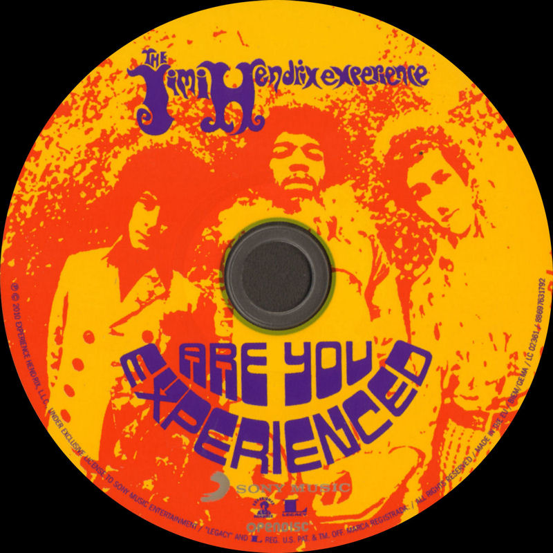 Discographie : Compact Disc   - Page 2 AreYouExperiencedSonyMusic88697631792ADD08Mars2010LabelCD_zpsb650eb36