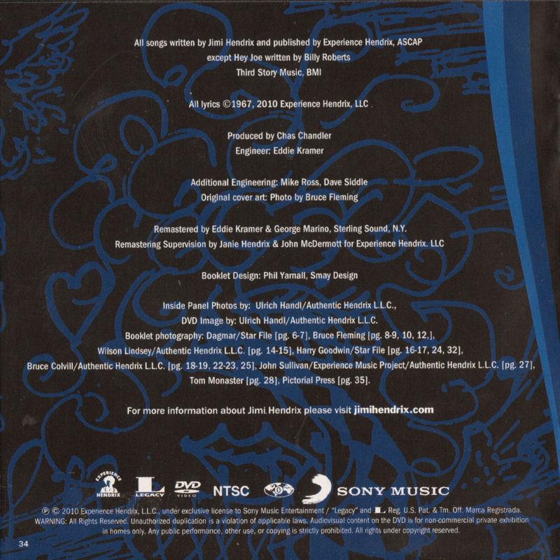 Discographie : Compact Disc   - Page 2 AreYouExperiencedSonyMusic88697631792ADD08Mars2010Livret34_zpsa9dd5078
