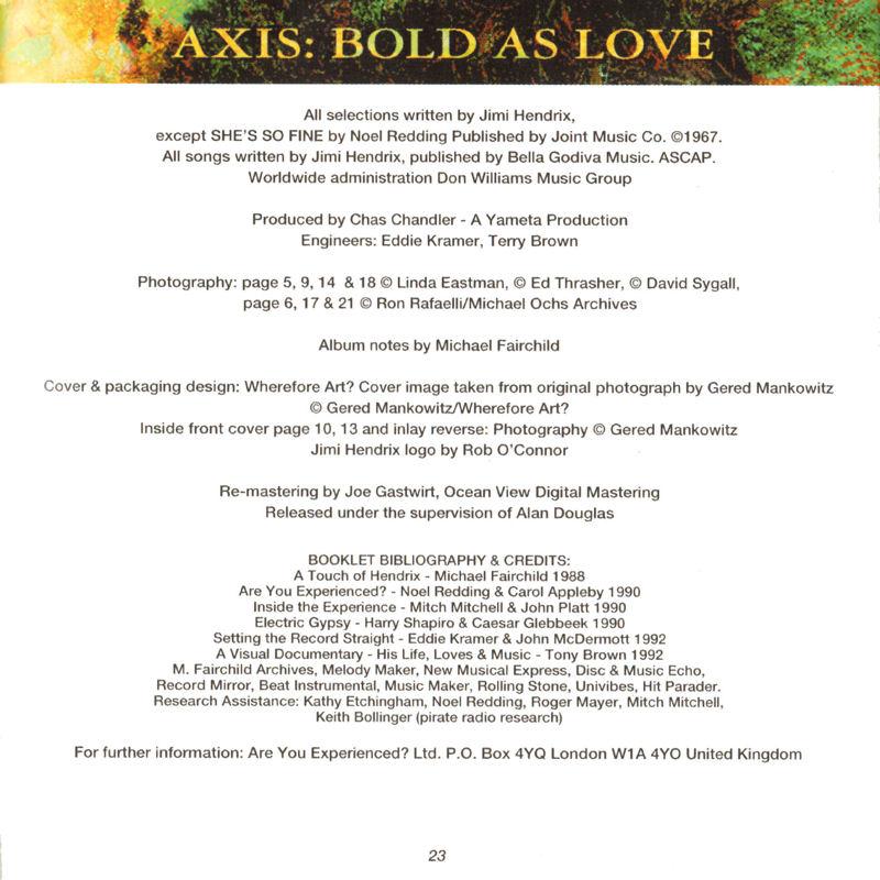 Discographie : Compact Disc   - Page 2 AxisBoldAsLoveDouglasPolydor847243-21993Livret23_zps2c5686c3
