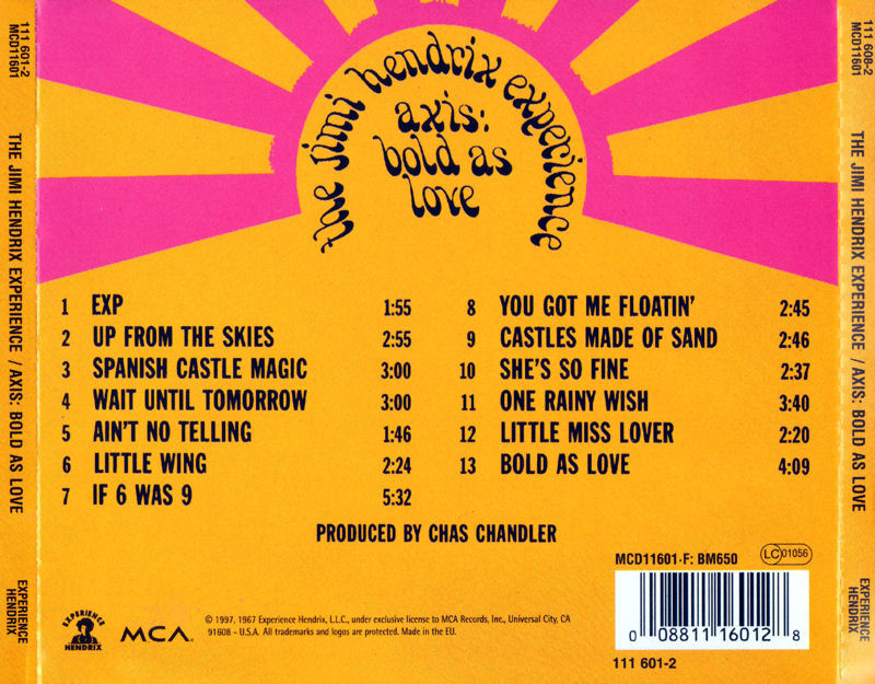 Discographie : Compact Disc   - Page 2 AxisBoldAsLoveMCAMCD116011997Back_zps0f353c7f