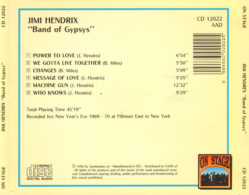Discographie : Compact Disc   - Page 3 BOGOnStageCD120221992Back_zpse8a08acc