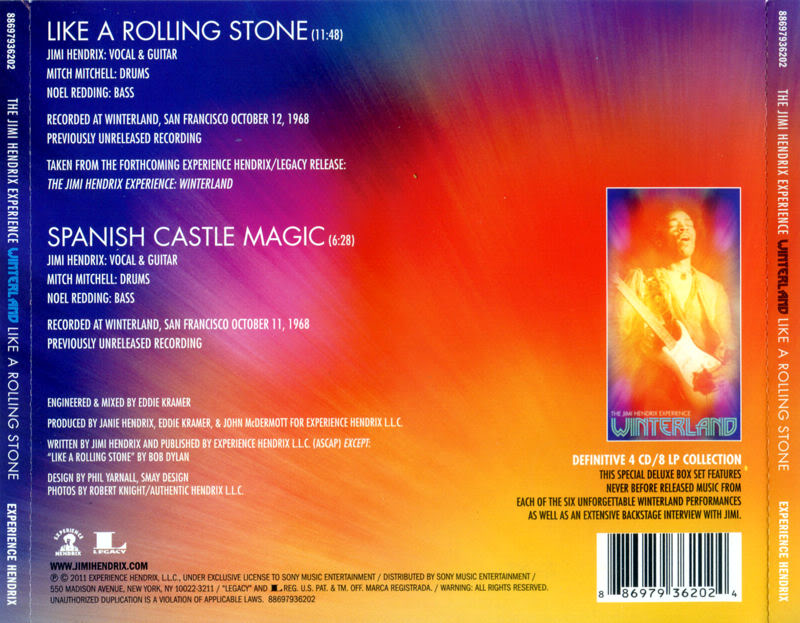Discographie : Compact Disc   LikeaRollingStones-SpanishCastleMagicBack