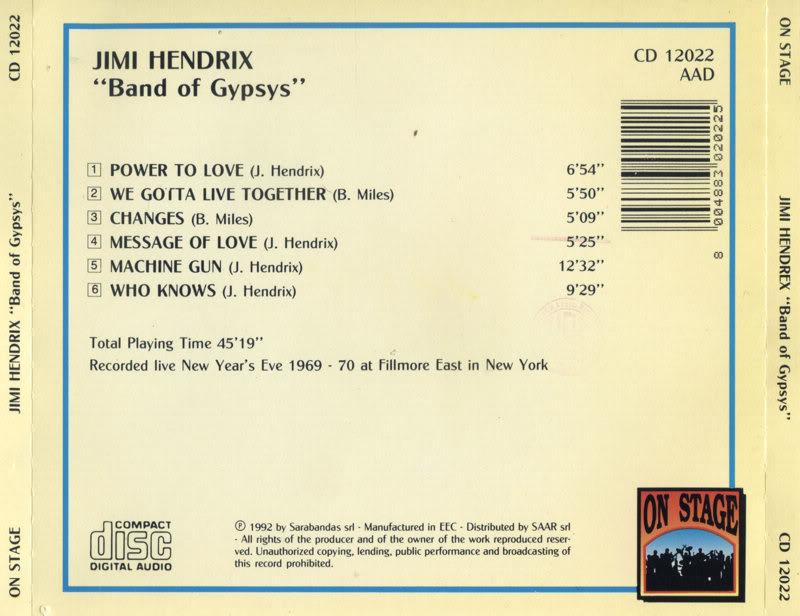 Band Of Gypsys (1970) - Page 3 BandOfGypsysback