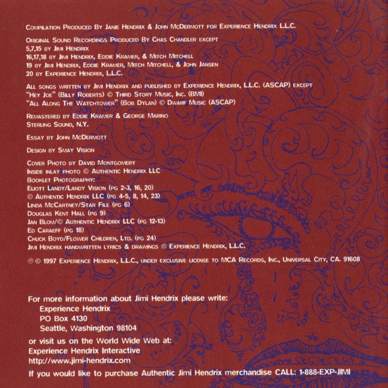 Discographie : Compact Disc   - Page 5 MCAMCD11671ExperienceHendrixLivret21_zpsbe830df4
