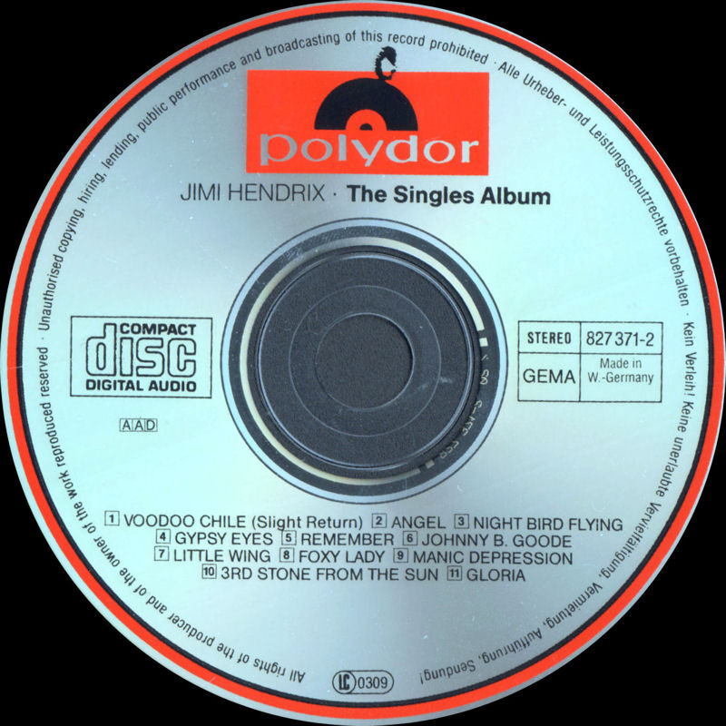 Discographie : Compact Disc   - Page 4 Polydor827369-2TheSinglesAlbumLabel2_zps1871eb84