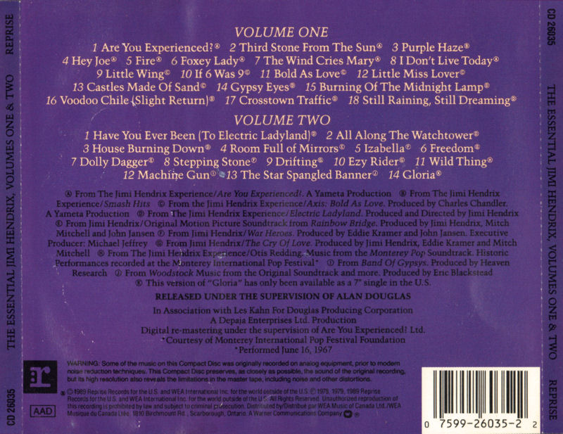 Discographie : Compact Disc   - Page 5 RepriseCD26035-TheEssentialJimiHendrixVolumesOneAndTwoBack_zps09ec7ca7