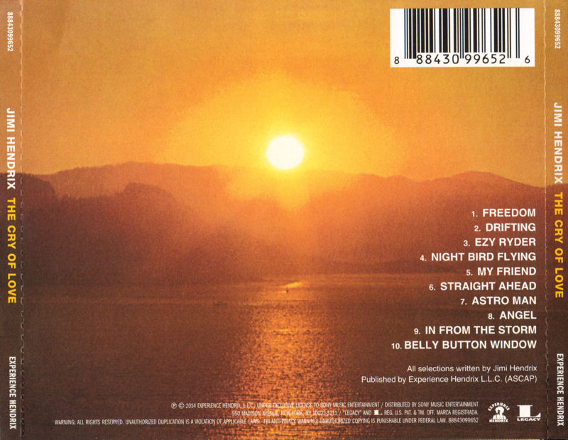 Discographie : Compact Disc   - Page 4 TheCryOfLove2014Back_zps1ff8ba8b