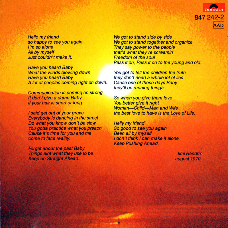 Discographie : Compact Disc   - Page 3 TheCryOfLovePolydor847242-21988Inside_zpsfcced76e