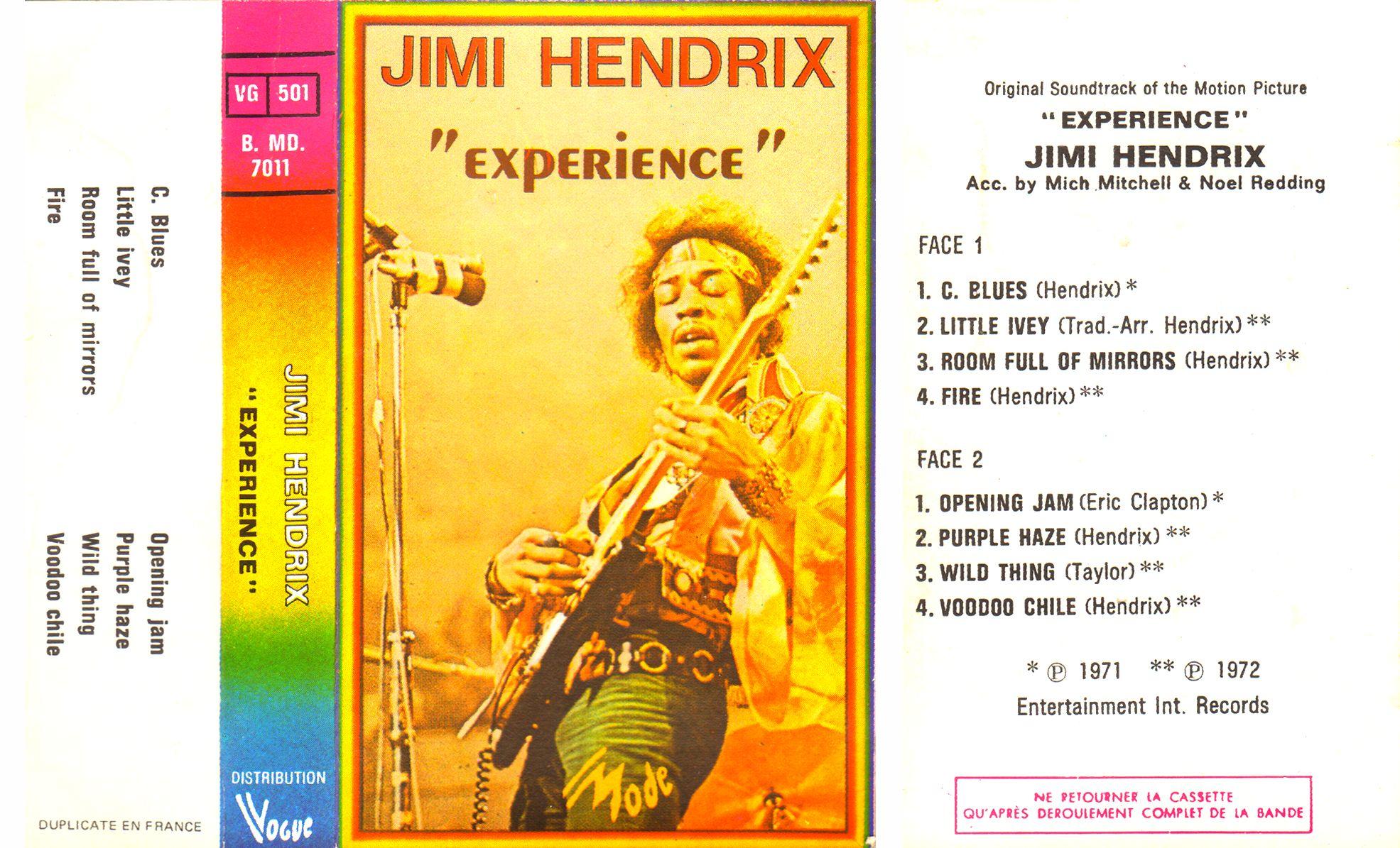 Londres (Royal Albert Hall) : 24 février 1969 - Page 4 1977ExperienceRAH-K7VogueBMD7011