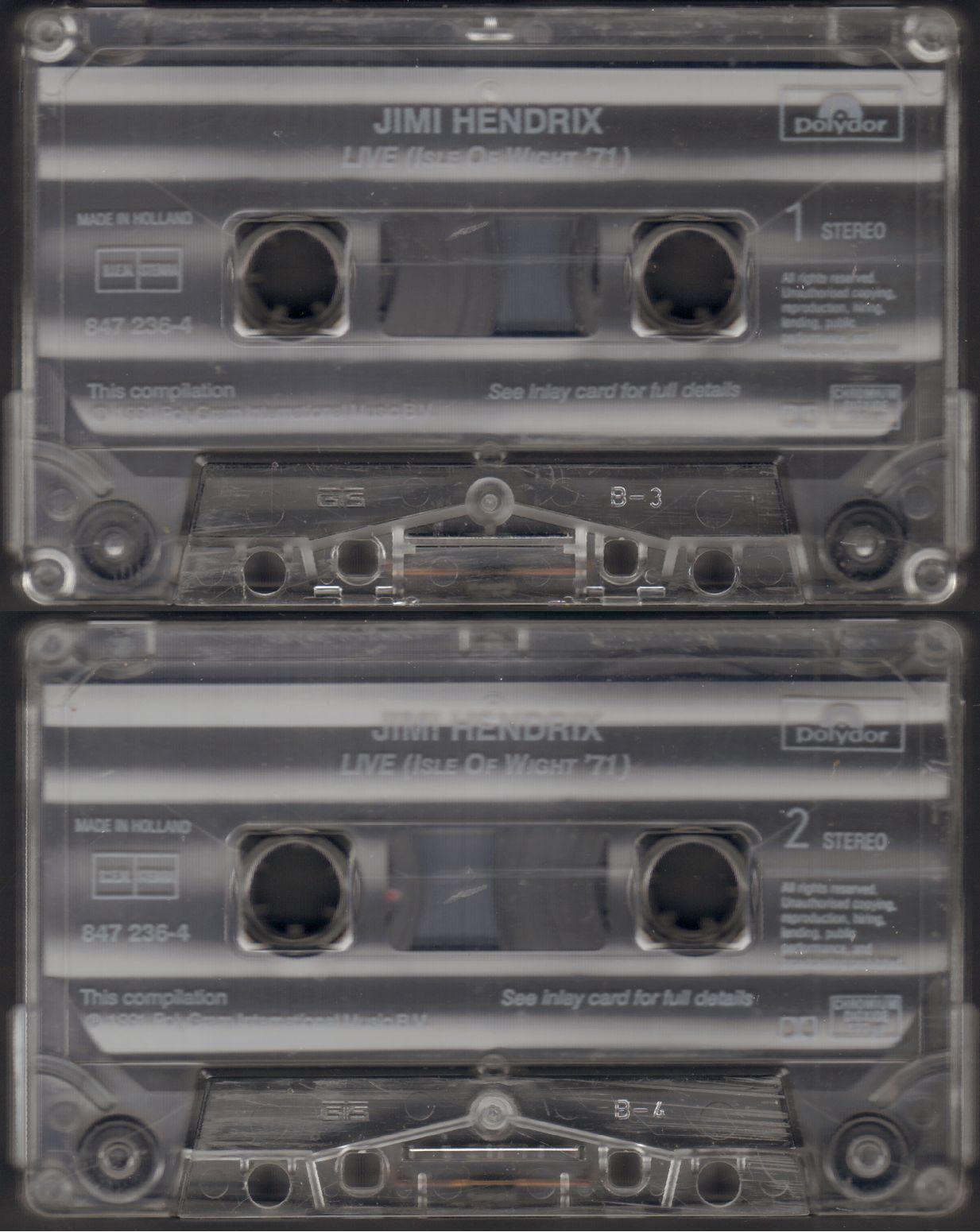 Live Isle Of Wight '70 (1991) 1991IsleOfWightK7tapeMCA847.236-4