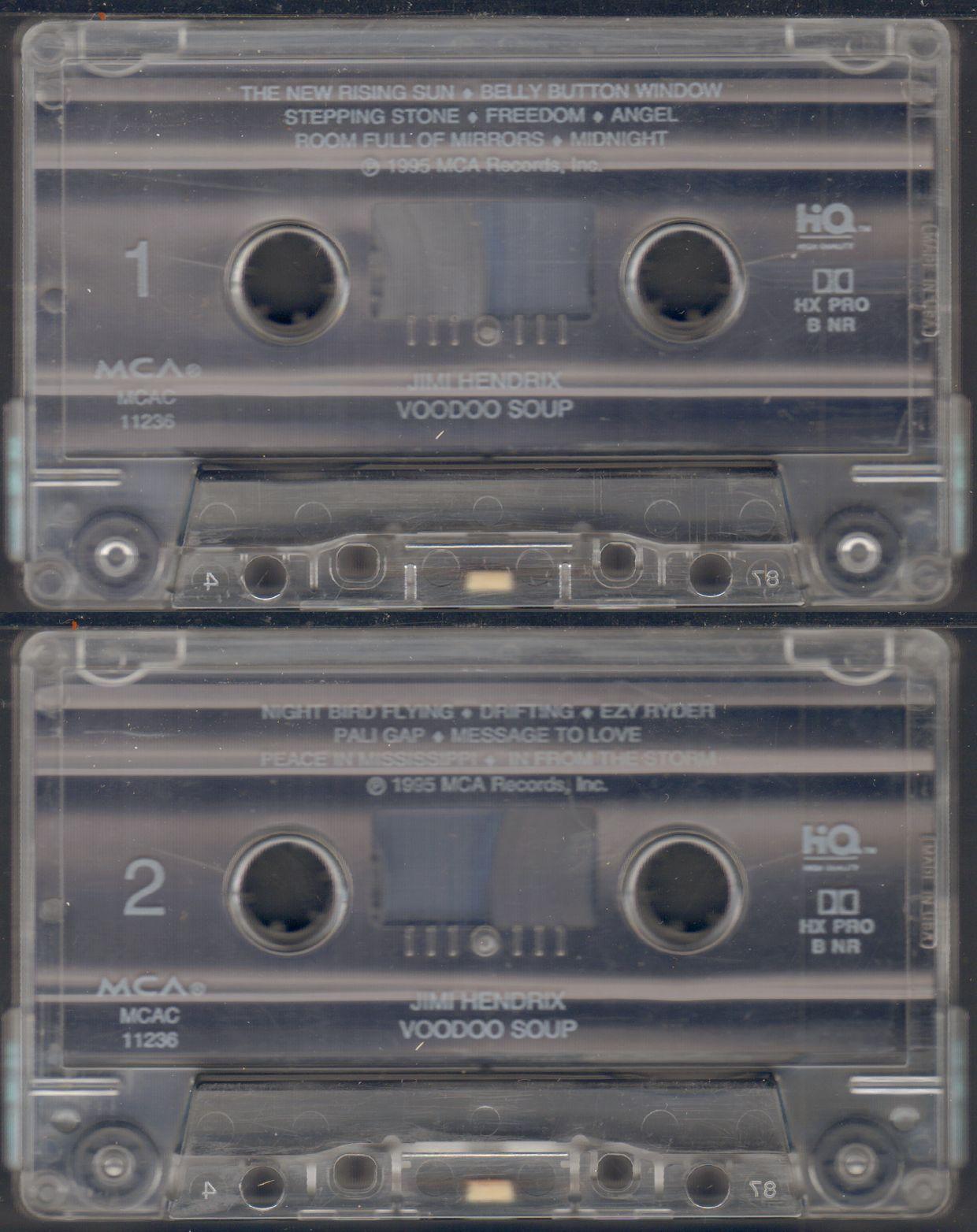Voodoo Soup (1995) 1995VoodooSoupK7TapeMCA-MCAC11236