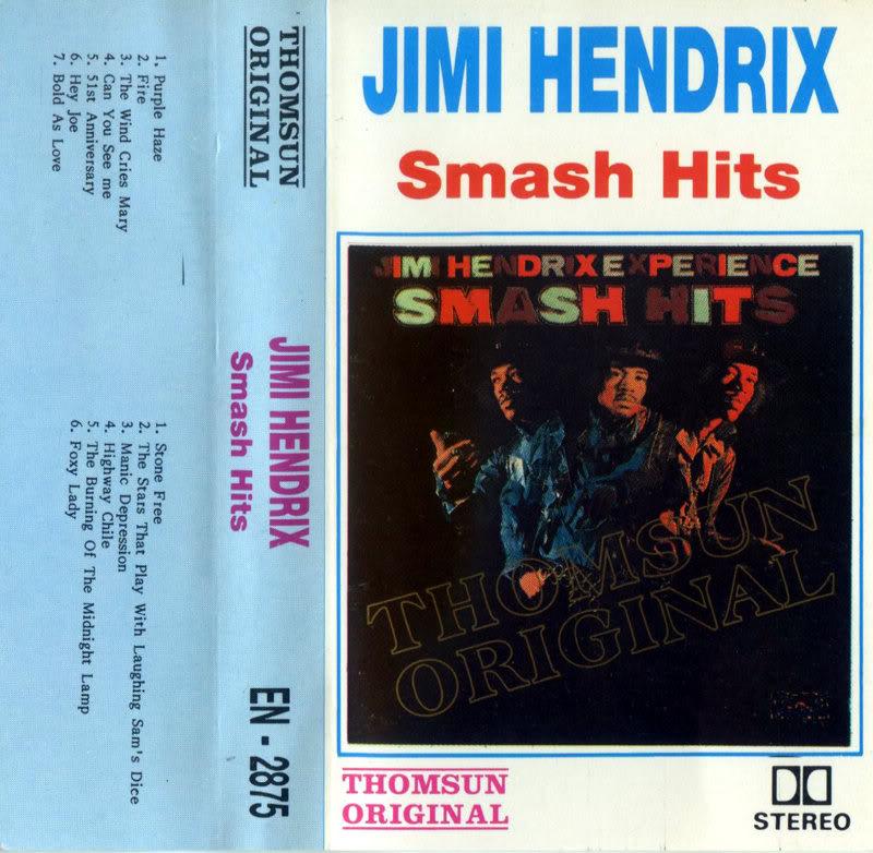 Discographie : Rééditions & Compilations SmashHitsK7front