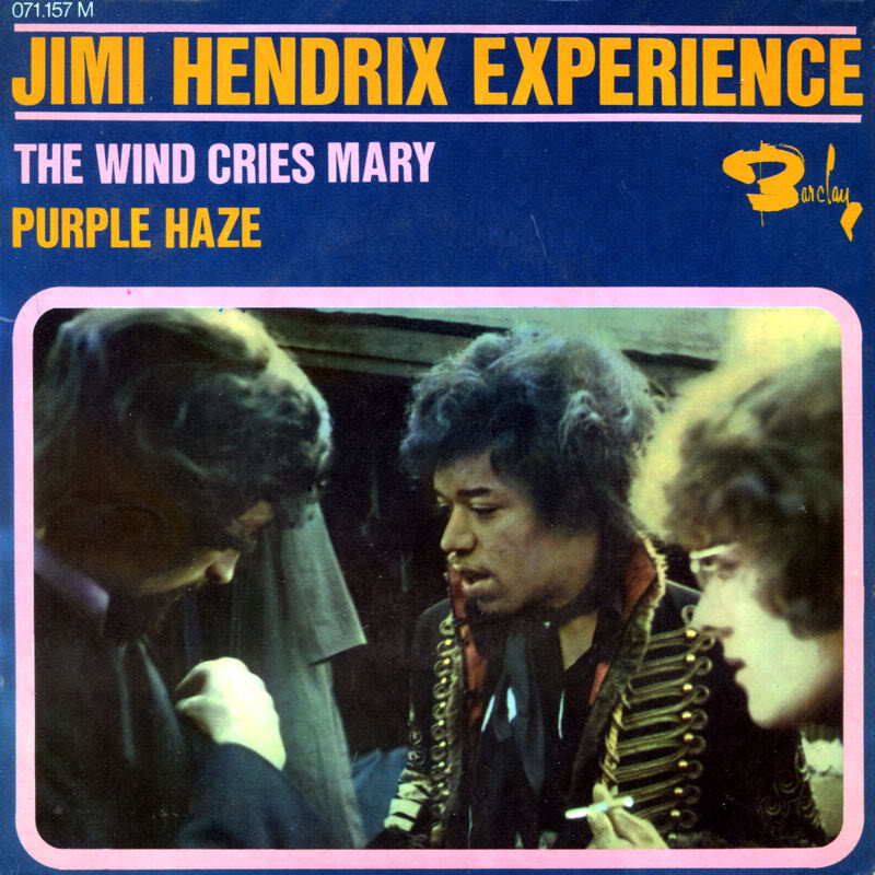 Discographie : Made in Barclay - Page 2 1967%20EP%20Barclay%20071157-TheWindCriesMary-Fire-PurpleHaze-HighwayChildFront