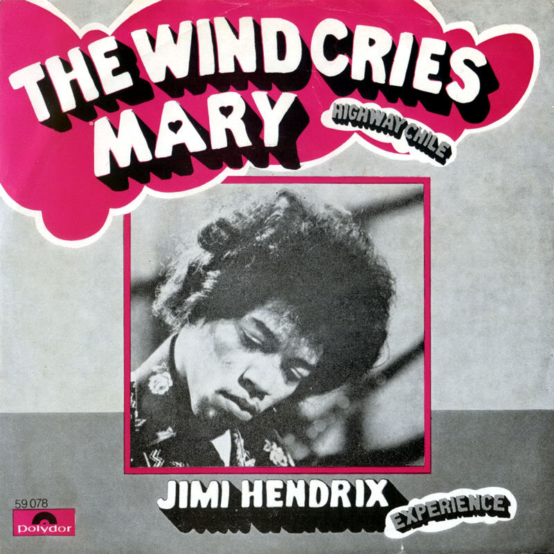 Discographie : 45 Tours : SP,  EP,  Maxi 45 tours - Page 8 1967%20Polydor%2059078--TheWindCriesMary-HighwayChileFront%20Scandinavie