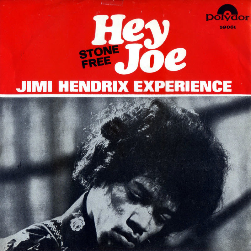 Discographie : 45 Tours : SP,  EP,  Maxi 45 tours 1967%20Polydor59061-HeyJoe-StoneFreeFrontNorvege