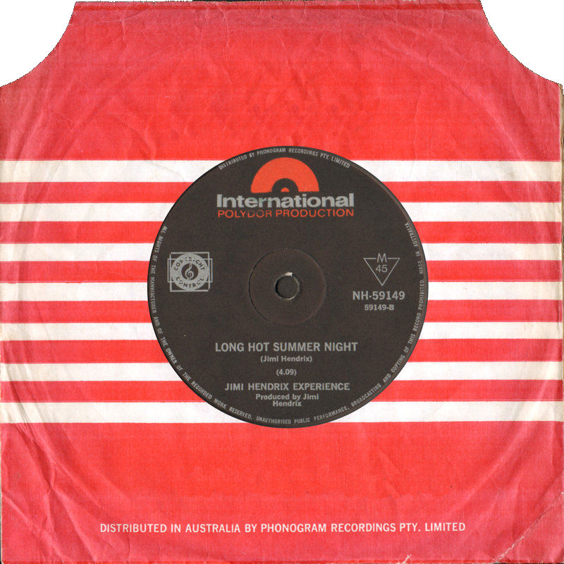 Discographie : 45 Tours : SP,  EP,  Maxi 45 tours - Page 9 1968%20Polydor%20International%20NH-59149%20LongHotSummerNight