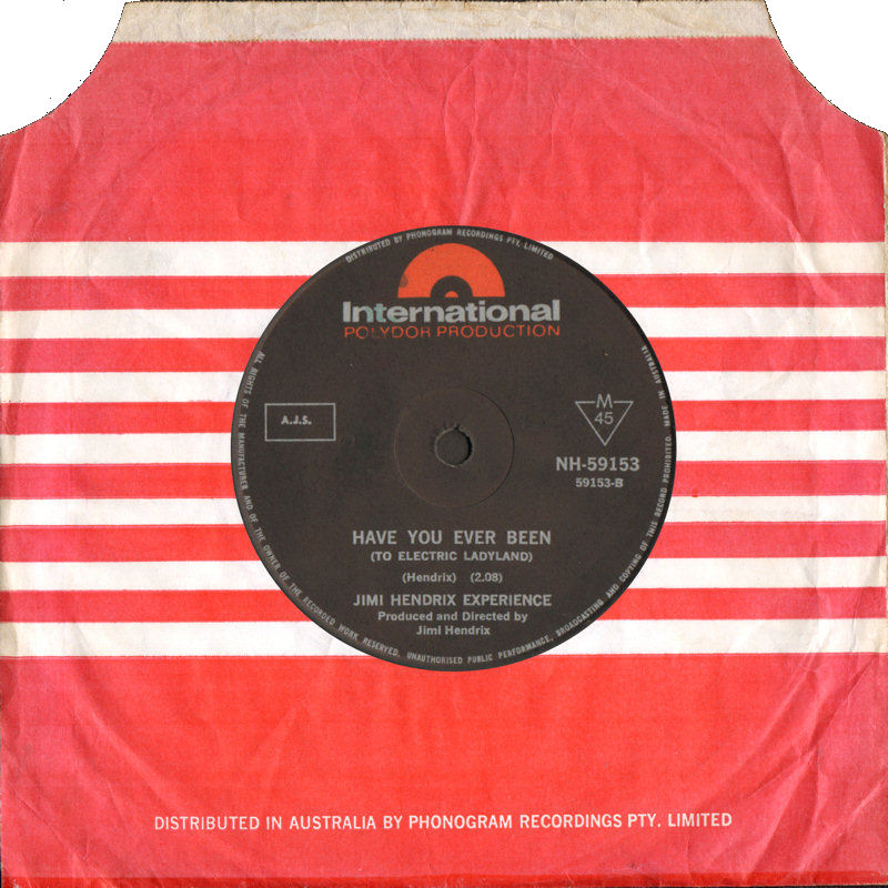 Discographie : 45 Tours : SP,  EP,  Maxi 45 tours - Page 9 1968%20Polydor%20International%20NH-59153-HaveYouEverBeen
