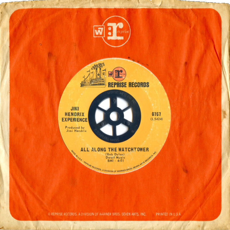 Discographie : 45 Tours : SP,  EP,  Maxi 45 tours - Page 4 1968%20Reprise%200767-AllAlongTheWatchtower