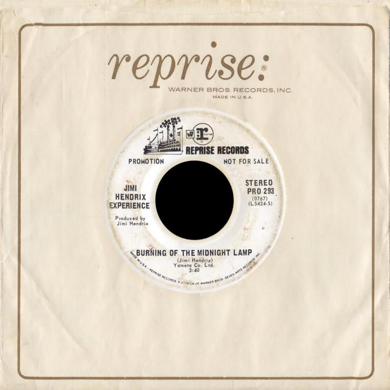 Discographie : 45 Tours : SP,  EP,  Maxi 45 tours - Page 8 1968%20Reprise%20PRO293-BurningOfTheMidnightLamp-AllAlongTheWatchtowerFront