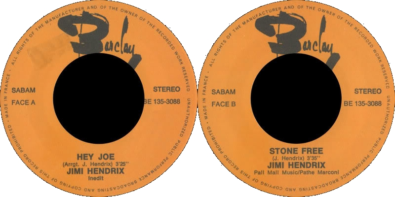 Discographie : Made in Barclay - Page 5 1970%20Barclay%20BE135-3088-HeyJoe-StoneFreelabel