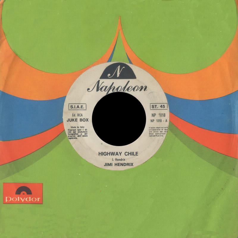 Discographie : 45 Tours : SP,  EP,  Maxi 45 tours - Page 8 1970%20NapoleonNP1018PurpleHaze-HighwayChileFront
