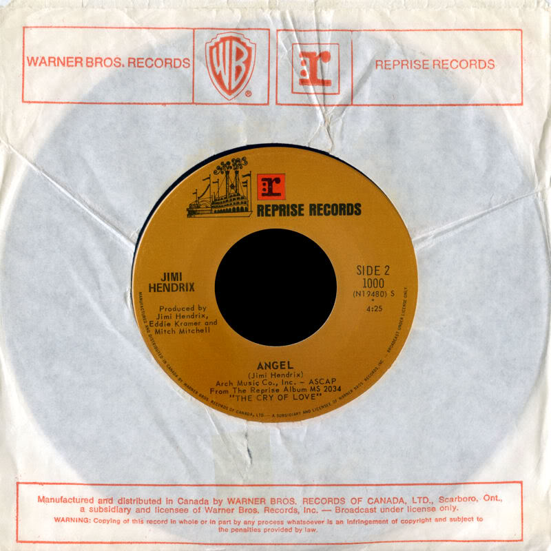 Discographie : 45 Tours : SP,  EP,  Maxi 45 tours - Page 8 1971%20Reprise1000-Freedom-AngelBackCanada