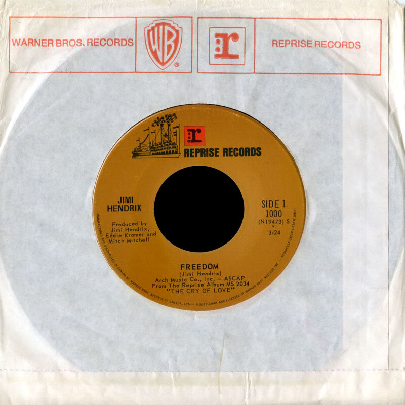 Discographie : 45 Tours : SP,  EP,  Maxi 45 tours - Page 8 1971%20Reprise1000-Freedom-AngelFrontCanada