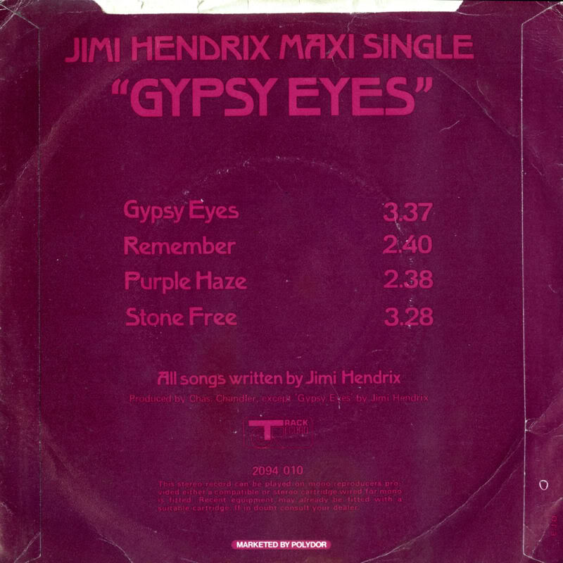 Discographie : 45 Tours : SP,  EP,  Maxi 45 tours - Page 3 1971%20Track%202094010-GypsyEyes-Remember-PurpleHaze-StoneFreeBack