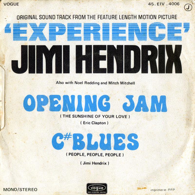 Discographie : 45 Tours : SP,  EP,  Maxi 45 tours - Page 9 1971%20Vogue%20EIV4006-OpeningJam-CBluesBack