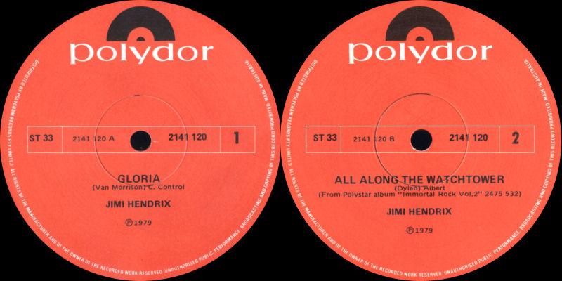 Discographie : 45 Tours : SP,  EP,  Maxi 45 tours 1979-Polydor2140120GloriaB