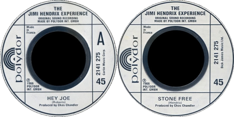 Discographie : 45 Tours : SP,  EP,  Maxi 45 tours - Page 4 1980%20Polydor%202141275-HeyJoe-StoneFree
