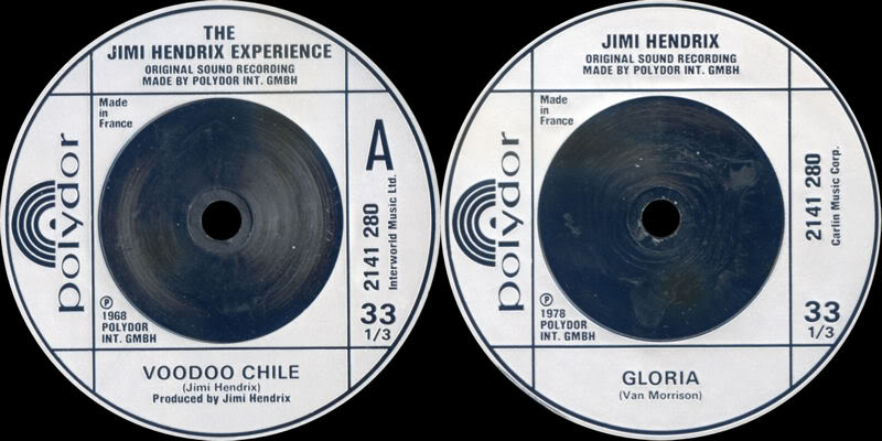Discographie : 45 Tours : SP,  EP,  Maxi 45 tours - Page 4 1980%20Polydor%202141280-VoodooChile-Gloria