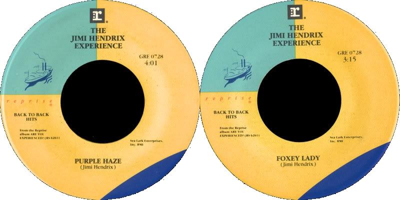 Discographie : 45 Tours : SP,  EP,  Maxi 45 tours - Page 8 1983%20Reprise%20GRE0728-PurpleHaze-FoxeyLady