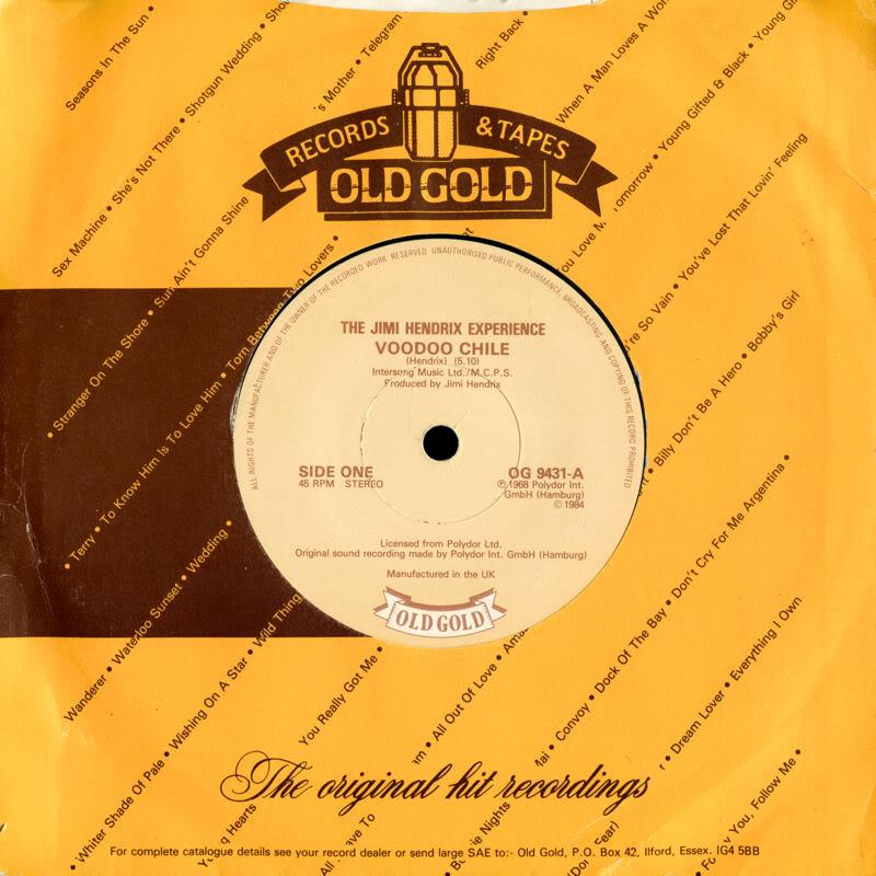 Discographie : 45 Tours : SP,  EP,  Maxi 45 tours 1984%20Old%20Gold%20OG9431VoodooChile-BurningOfTheMidnightLampFront