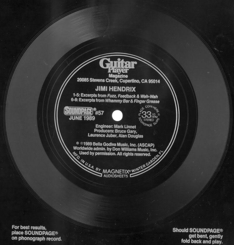 Discographie : 45 Tours : SP,  EP,  Maxi 45 tours - Page 3 1989SoundpageGuitarPlayernumro57
