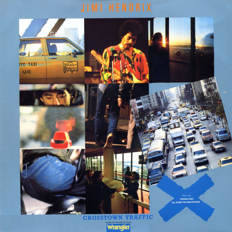 Discographie : 45 Tours : SP,  EP,  Maxi 45 tours - Page 2 1990%20Polydor%20POL122%20CrosstownTraffic-VoodooChileslightreturn-AllAlongTheWatchtowerFront