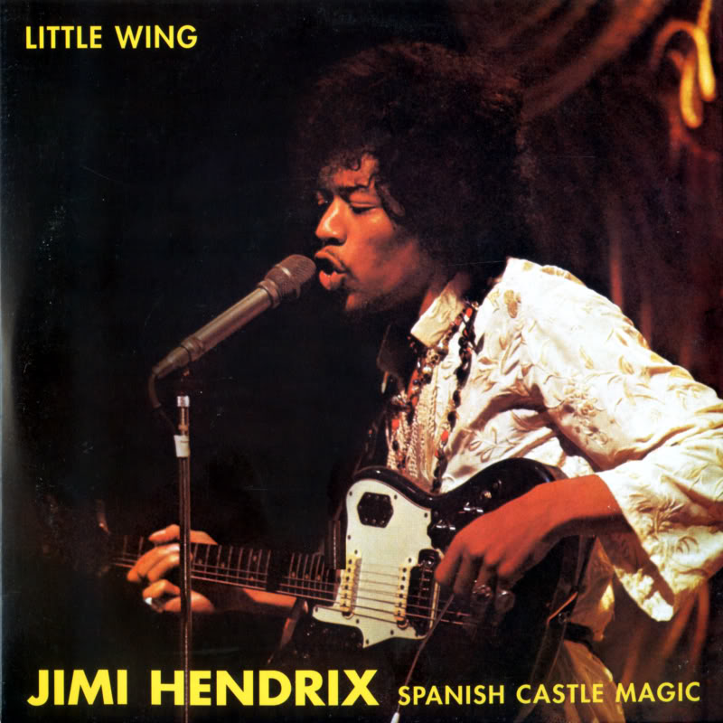 Discographie : 45 Tours : SP,  EP,  Maxi 45 tours 1998%20Experience%20Hendrix%20RTH-1007%20LittleWing-SpanishCastleMagicFront