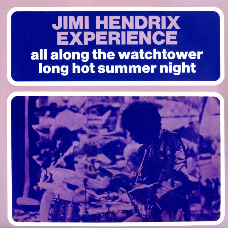 Discographie : 45 Tours : SP,  EP,  Maxi 45 tours - Page 3 1998%20Experience%20Hendrix%20RTH-1007-AllAlongTheWatchtower-LongHotSummerNightFront