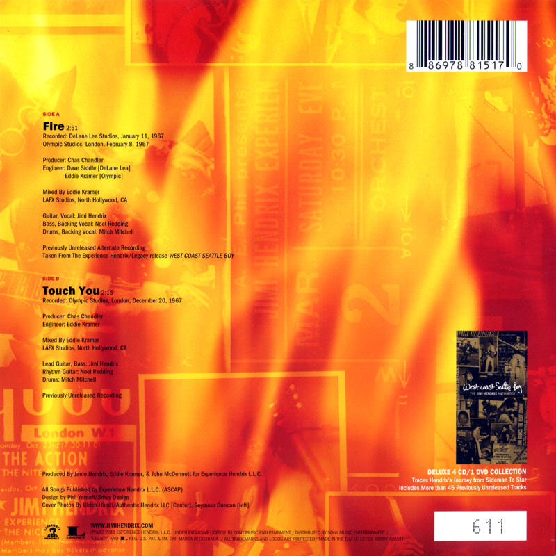 Discographie : 45 Tours : SP,  EP,  Maxi 45 tours - Page 4 2011%20Sony%208697881517-Fire-TouchYouBack