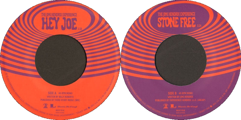 Discographie : 45 Tours : SP,  EP,  Maxi 45 tours - Page 10 2013%20Sony%2088765439527%20HeyJoe-StoneFreeLabel