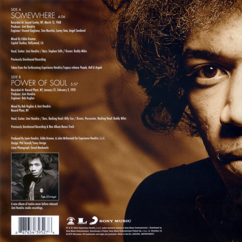 Discographie : 45 Tours : SP,  EP,  Maxi 45 tours - Page 9 2013%20Sony%2088765439527-Somewhere-PowerOfSoulBack