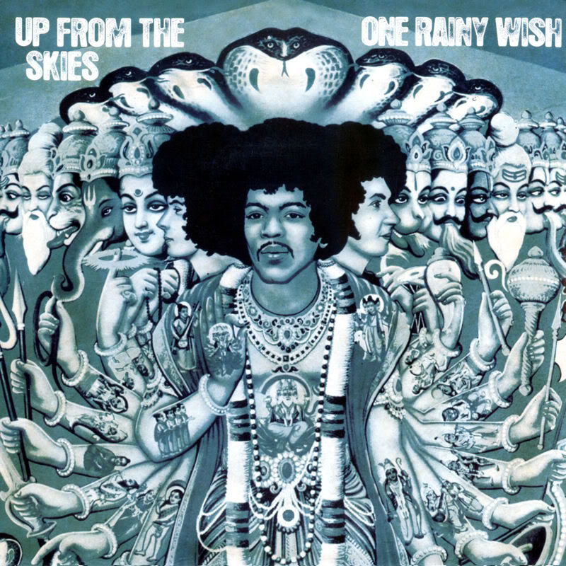 Discographie : 45 Tours : SP,  EP,  Maxi 45 tours - Page 2 2015%20Experience%20Hendrix%200665UpFromTheSkies-OneRainyWishFront